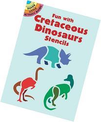 Fun with Cretaceous Dinosaurs Stencils