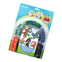 Perler Fun Fusion Fuse Bead Activity Kit-Rare Bugs 'N Birds