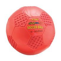 "Saturnian I Fun Gripper 8"" Soccer Ball, Red"