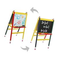 Children's Chalkboard & Whiteboard A-Frame Easel, Kid's Wood