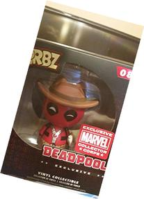 Funko Dorbz Cowboy Deadpool Marvel Collector Corps Exclusive