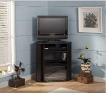 "Bush Furniture Visions Tall TV Stand, for TVs up to 37"","