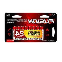 RAYOVAC 824-24LTFUSJ Fusion Advanced AAA Alkaline Batteries