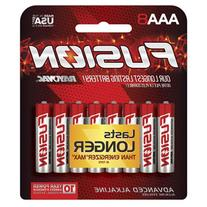 FUSION by Rayovac High-Performance AAA Alkaline Batteries, 8
