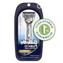 Gillette Fusion Proglide Silvertouch Men's Power Razor With