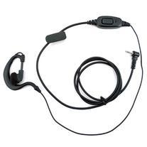 Zeadio ZP-AR122 G Shape Earpiece Headset with PTT Microphone