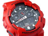 G-Shock Ga-100 Watch Red 0