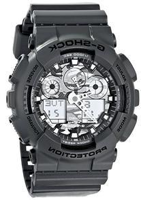 G-Shock GA100CF-8A Special Color Models Luxury Watch - Grey/