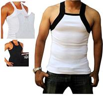 b670b53ef4687d Men s G-unit Style Tank Tops Square Cut Muscle Ribbed Wife