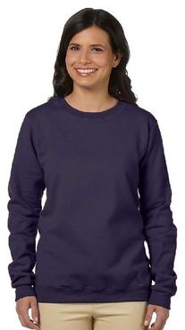 Gildan Ladies 8.0 Fleece Petite Crew