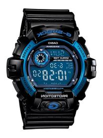Casio Men's G8900A-1CR G-Shock Black and Blue Resin Digital