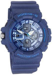 Casio Men's GAC-100-2ACR G-Shock Navy Metallic Chronograph