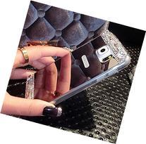 Galaxy S7 Edge Case, UnnFiko Beauty Luxury Diamond Hybrid