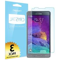 Spigen Crystal Clear Galaxy note 4 Screen Protector with