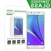 Galaxy Note 5 Screen Protector Glass, amFilm 0.3mm 2.5D