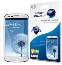 Galaxy S3 Screen Protector, Tech Armor High Definition HD-
