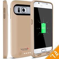 Galaxy S6 Battery Case, Alpatronix BX410 3500mAh Slim
