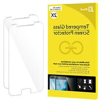 Galaxy S6 Screen Protector, JETech 2-Pack Premium Tempered