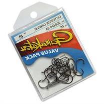 Gamakatsu Octopus Circle Hook, Size 1, Black, 25pk