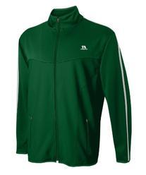 Russell Athletic Men's Gameday Full Zip Jacket Dark Green/