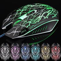 VicTsing 2500 DPI USB Wired Gaming Mouse, 9 Programmable