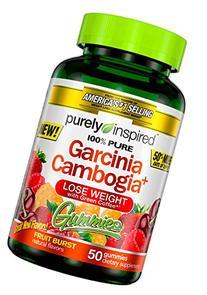 Purely Inspired Garcinia Cambogia+ Gummies, Fruit Burst, 50