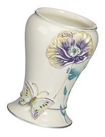 Garden Gate Ceramic Tumbler, Lilac