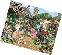 White Mountain Puzzles The Garden Shop - 1000 Piece Jigsaw
