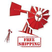 Garden Windmills-4ft,Decorative Windmills-Does This