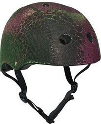 Krash Gator Glam 8+ Helmet, Multicolored