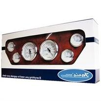Faria Gauge Set 6 Chesapeak Stainless Steel White 678KTF001