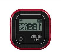 GolfBuddy GB7-VS4-BLKRED Golf GPS, Small, Black/Red