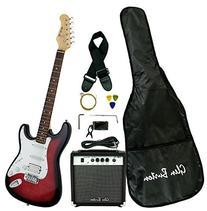 Glen Burton GE101BCO-RDS  Electric Guitar Stratocaster-Style