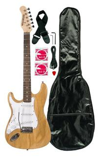 Huntington GE139-NT Electric Guitar Pack, Natural