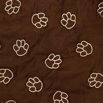Guardian Gear Polyester Pawprint Pet Car Seat Cover,