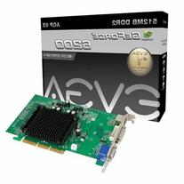 EVGA GeForce 6200 512 MB DDR2 AGP 8X VGA/DVI-I/S-Video