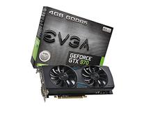 EVGA GeForce GTX 970 4GB GAMING ACX 2.0, 26% Cooler and 36%