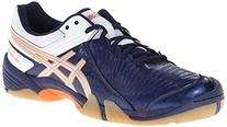 Asics Men's Gel-Domain 3 Volleyball Shoe,Navy/Lightning/