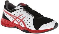 Asics Men's Gel-Engage 3C Training Shoe,Black/Silver/Yellow,