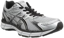 ASICS Men's Gel Excite 2-4E Running Shoe,White/Black/Silver,