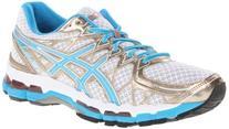 Asics Gel-Kayano 20 Running Shoe - Women's White/Island Blue