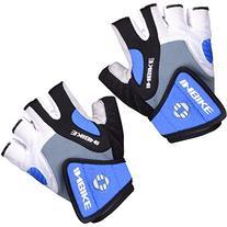 Inbike 5mm Gel Pad Half Finger Bike Bicycle Cycling Gloves