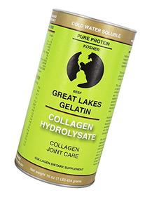 Great Lakes Gelatin Collagen Hydrolysate Beef, Kosher, 16 oz