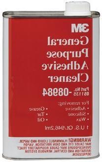 3M  General Purpose Adhesive Cleaner, 08984, 1 Quart