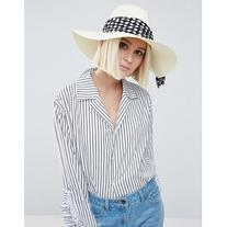 Genie by Eugenia Kim Willa Ivory Straw Hat with Polka Dot