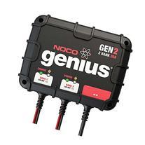 NOCO Genius GEN2 20 Amp 2-Bank Waterproof Smart On-Board
