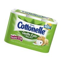 Cottonelle Gentle Care Bath Tissue with Aloe & Vitamin-E