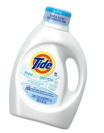 Tide Free & Gentle Liquid Detergent - 100 oz