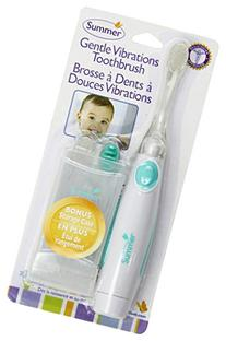 Summer Infant Gentle Vibrations Toothbrush - Teal/White