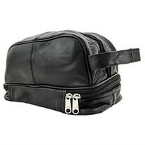 Genuine Leather Dopp Kit Shaving Accessory Toiletry Travel
